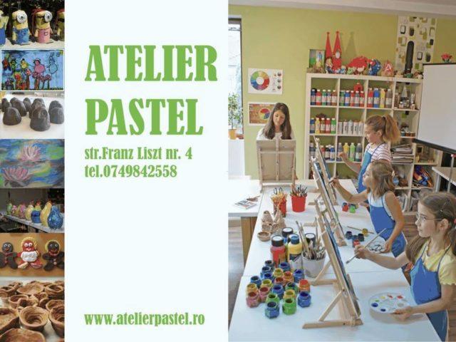 atelier pastel cluj afis Cursuri de artă plastică pentru copii și adulți