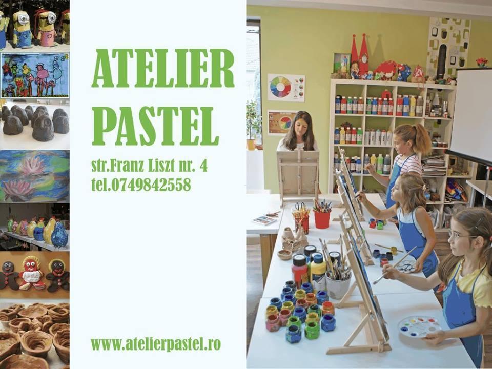 Cursuri de artă plastică pentru copii și adulți la Atelier Pastel Cluj