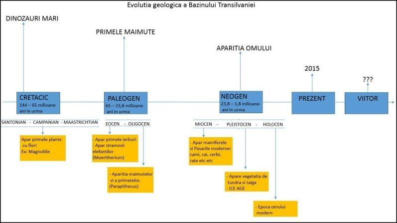 harta geologica a transilvaniei grafic