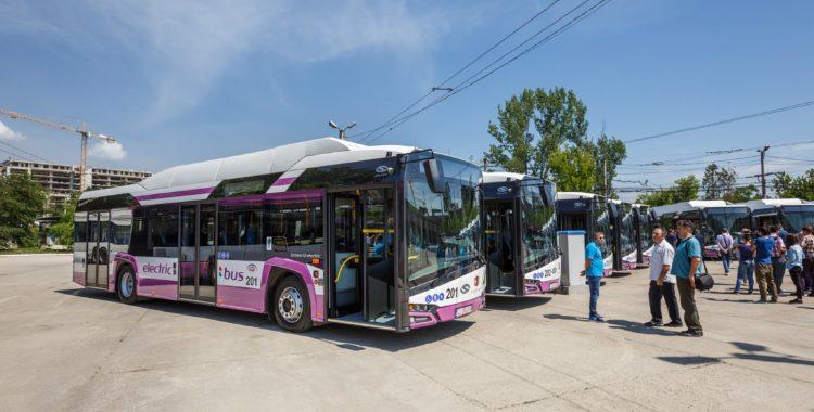autobuze electrice la cluj