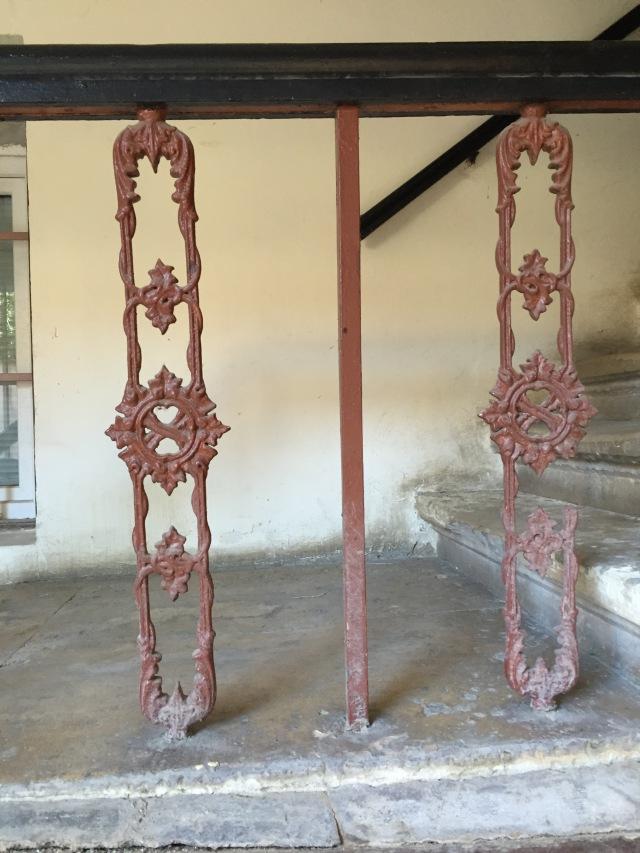 balustrada rupta
