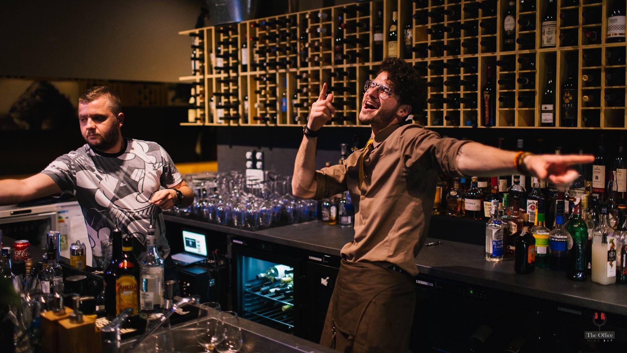 barman the office wine bar