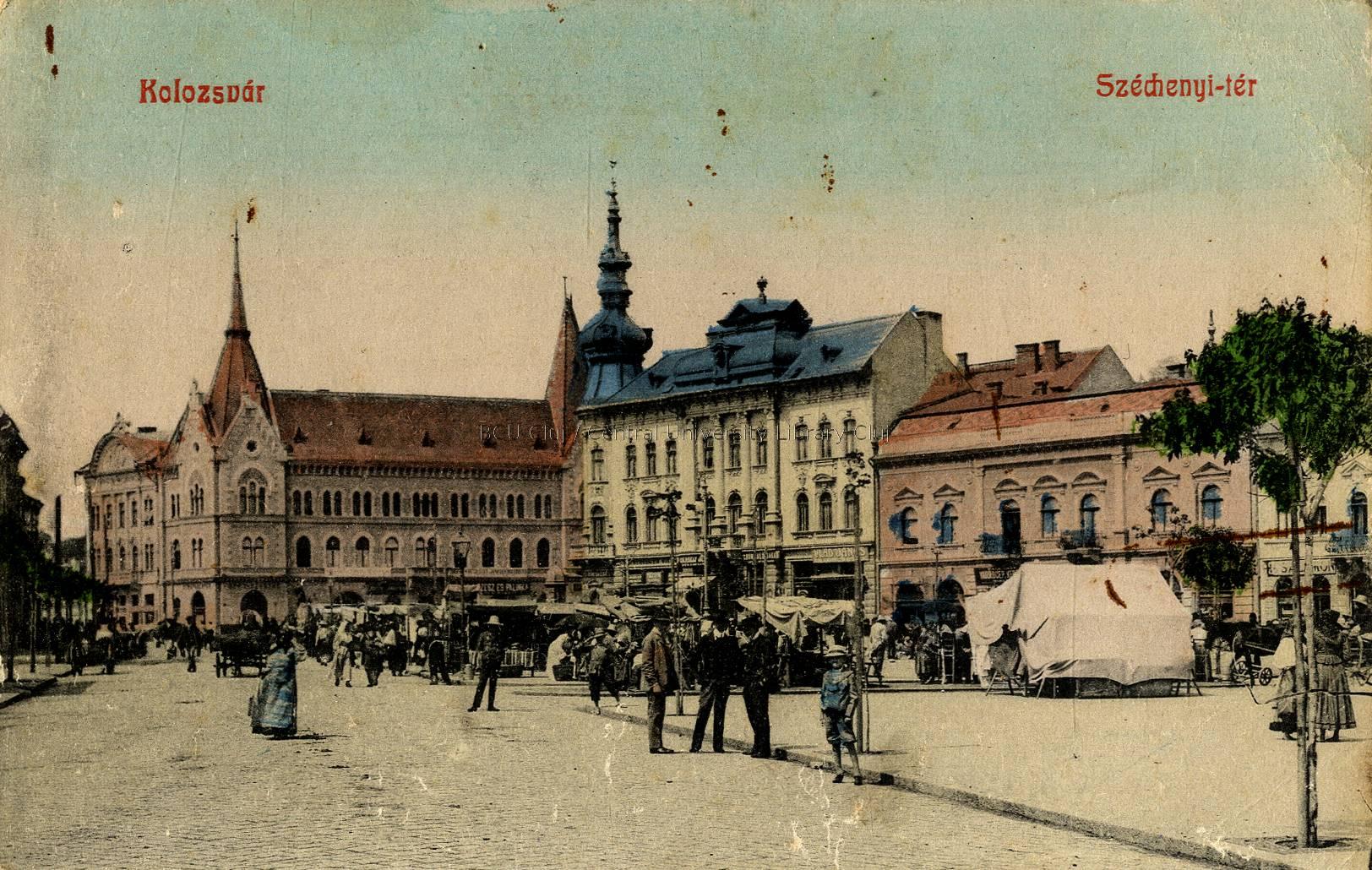 bcu cluj Palatul Babos Cluj 1910