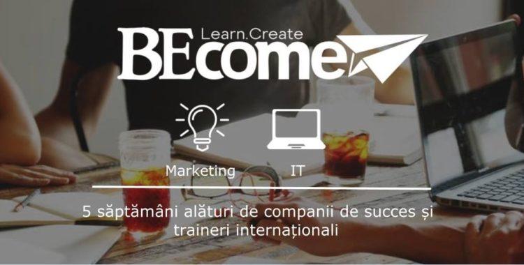 BECOME – training-uri de IT și Marketing în Cluj-Napoca