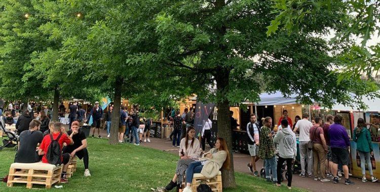 beer festival in iulius parc