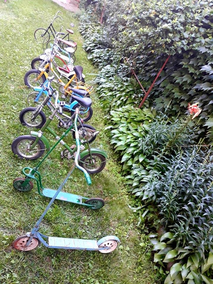 biciclete vechi romanesti trotinete triciclete