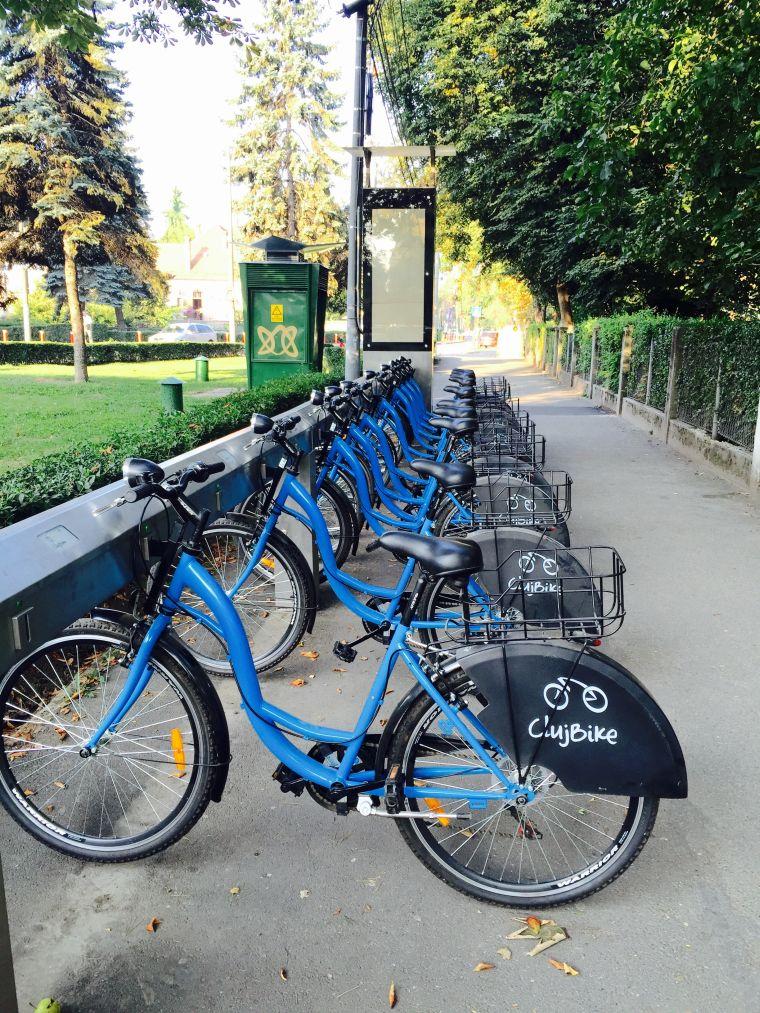 cluj bike sharing inchiriere gratuit