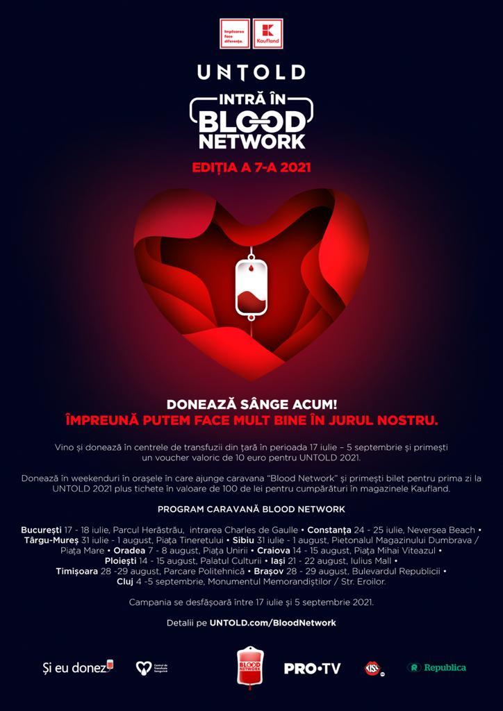 blood network 2021 doneaza sange untold