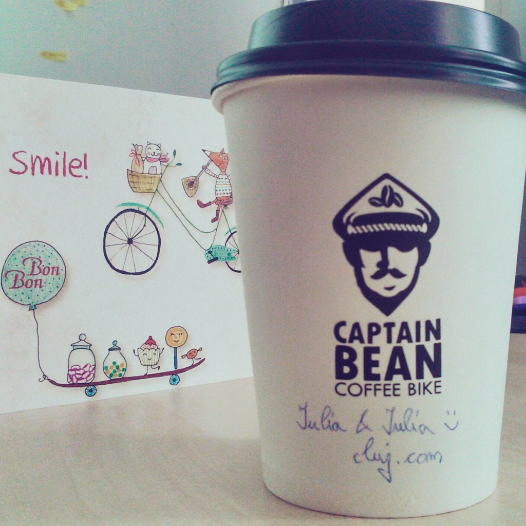 coffee to go cluj captain bean