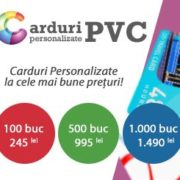 Carduri Personalizate PVC