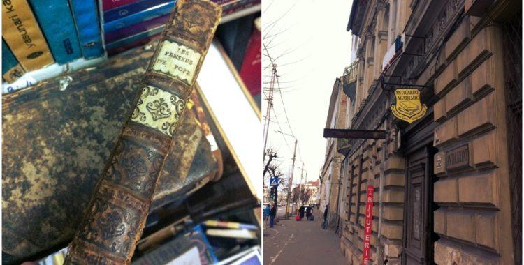 Cărțile vechi din anticariatele clujene
