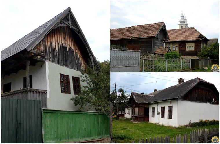 satul calatele, judetul cluj, comuna calatele,  case vechi