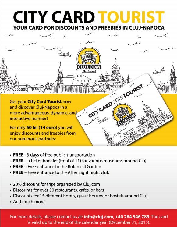 city card tourist cluj napoca 2015