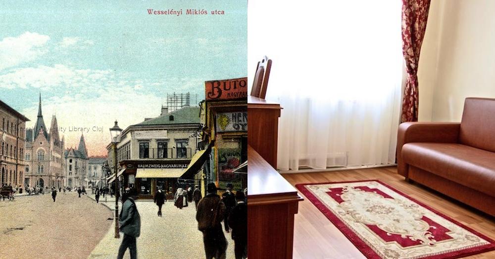 """Un hotel vechi din Cluj – un loc fictiv din cartea """"Dracula"""" lui Stoker"""