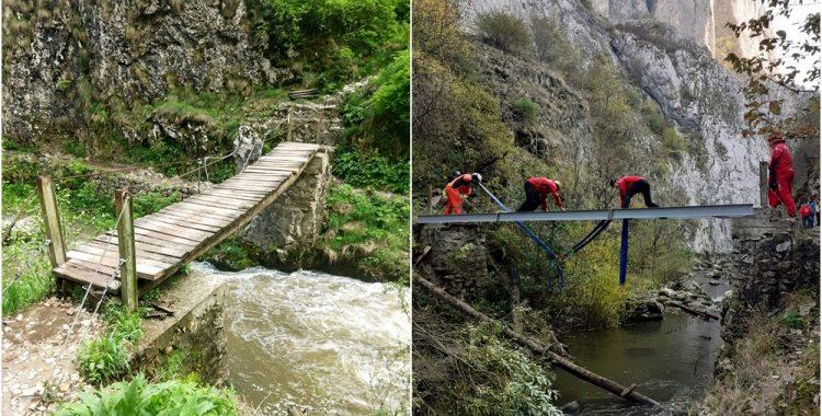 Podurile din Cheile Turzii