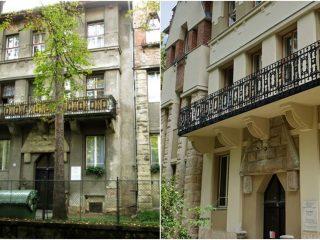 Transformare impresionantă: clădire reabilitată pe str. Arany János, lângă Parcul Central