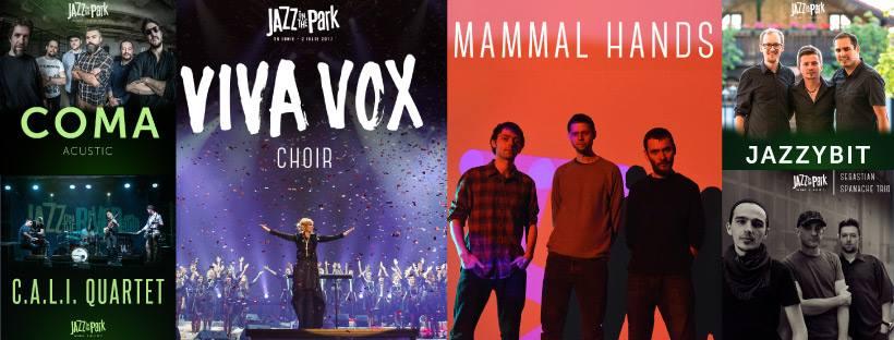 Începe săptămâna Jazz in the Park! Programul final sună senzațional.