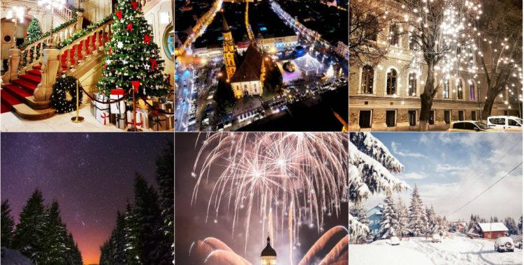 Clujul în 13 fotografii ale lunii decembrie