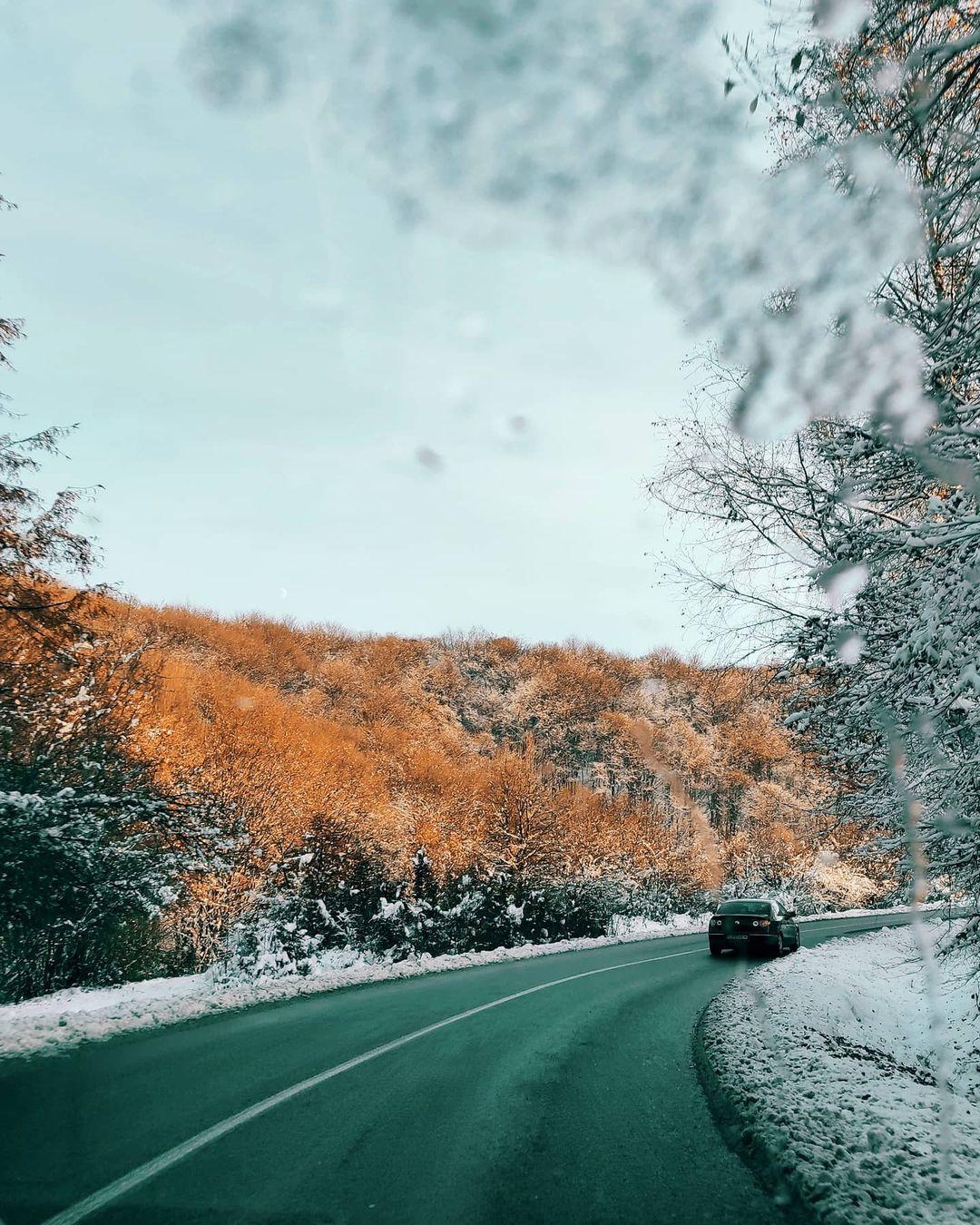 prima ninsoare in cluj