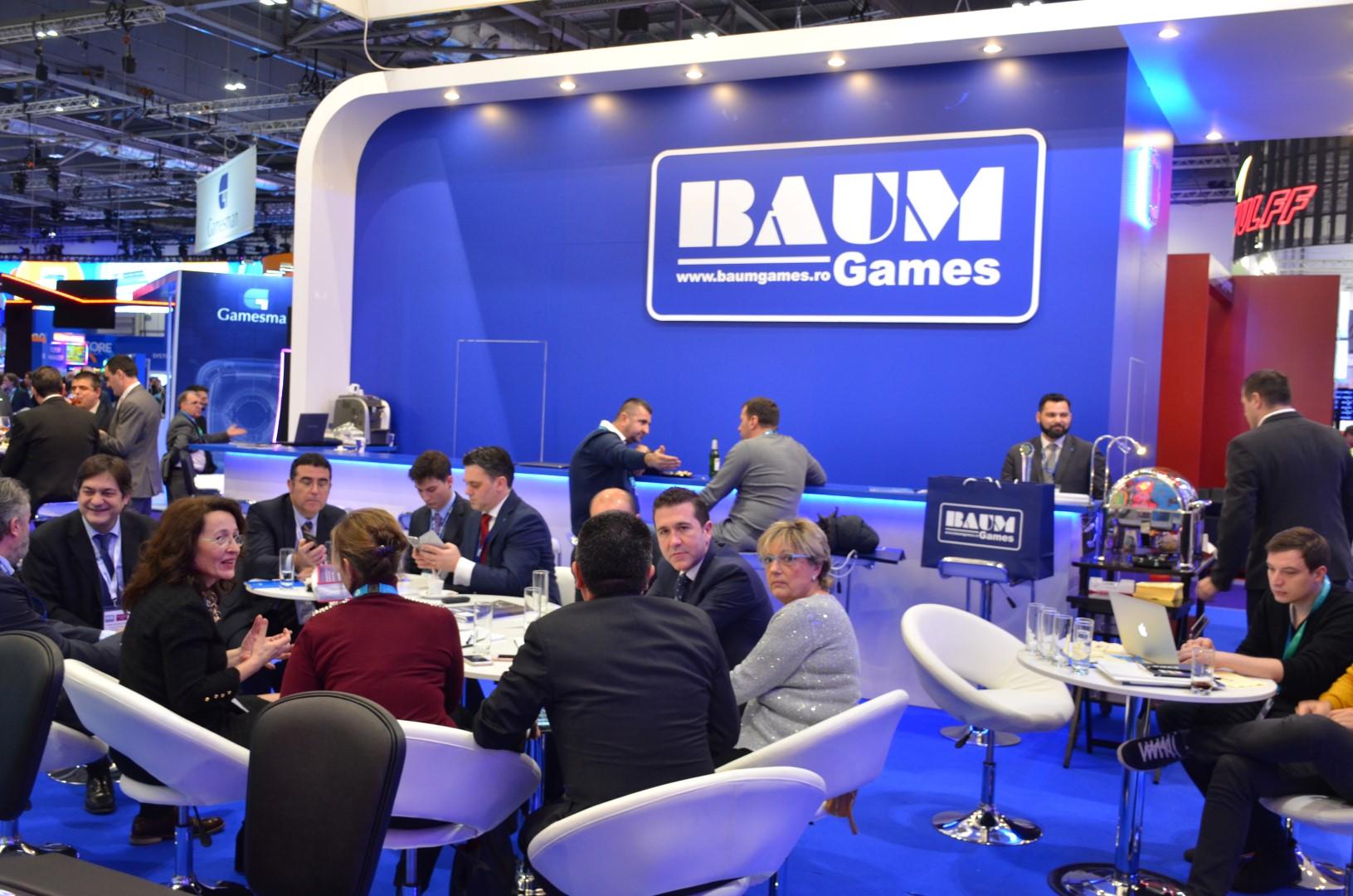 Compania transilvăneană BAUM Games a fost și anul acesta prezentă la ICE Totally Gaming (Londra)