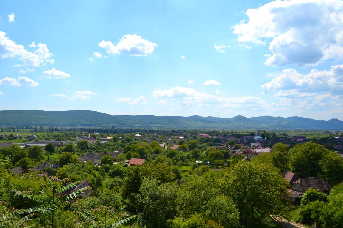 comuna caseiu Satul Caseiu-privit de sus (2) (Medium)