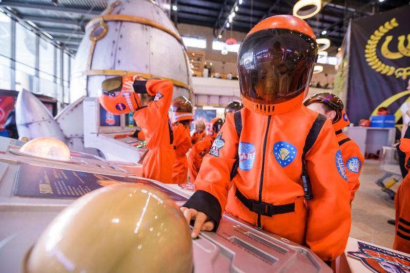 Kids on Mars