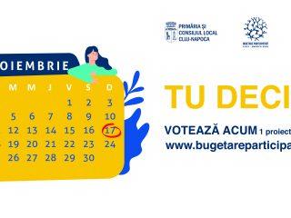 Ultimele zile de vot în cadrul procesului Bugetare Participativă 2019