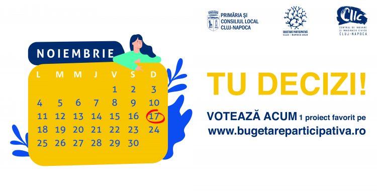 Ultimele zile de vot Bugetare participativă 2019