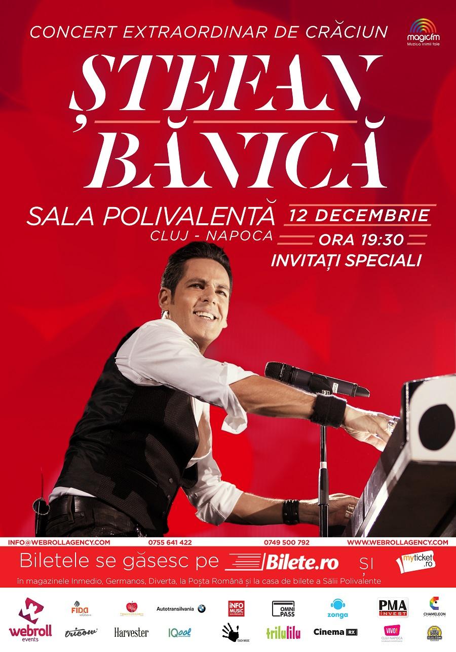 Ștefan Bănică în Concert de Crăciun la Cluj