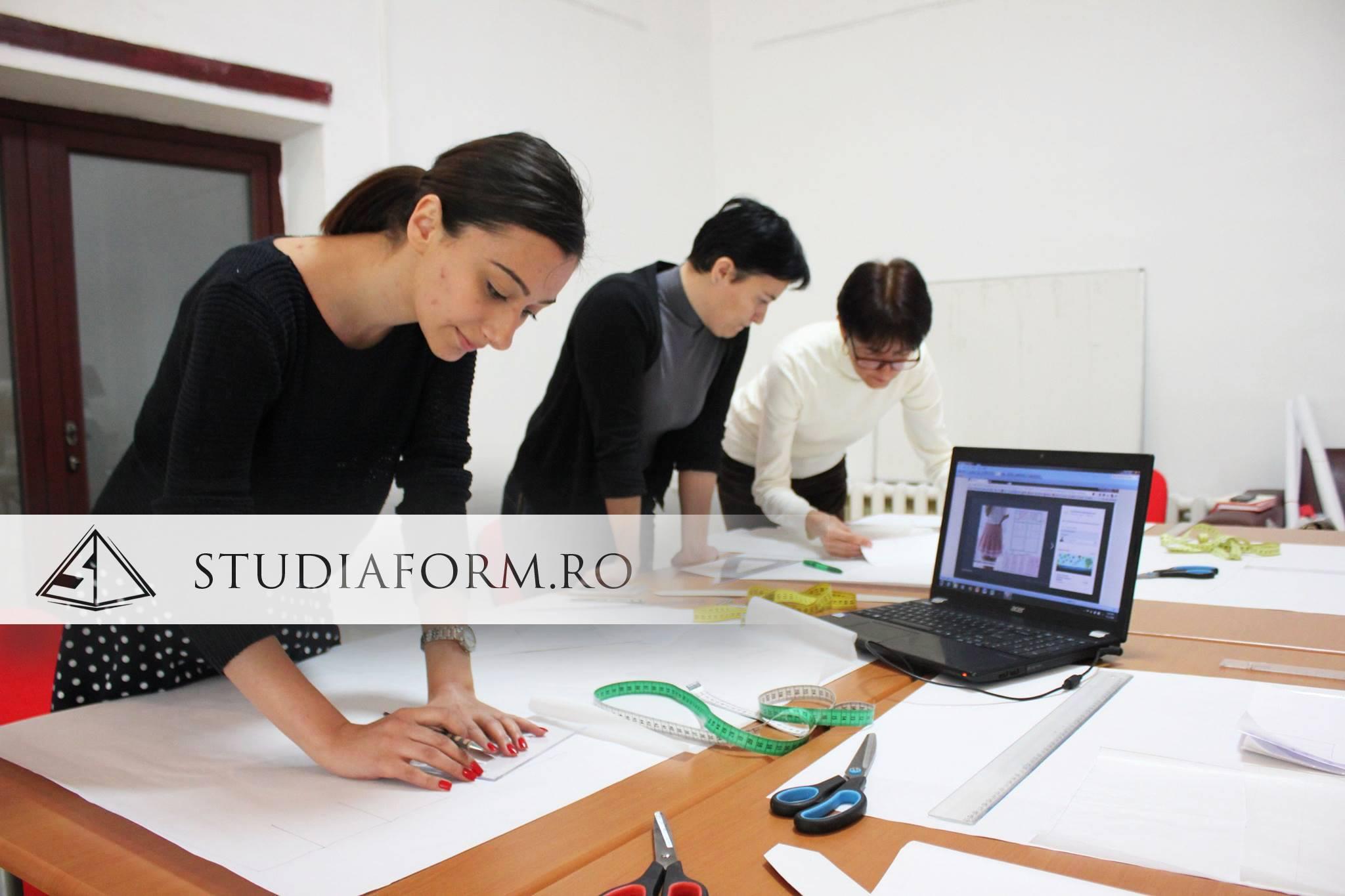 Curs de Croitorie Cluj la Centru de Formare STUDIA