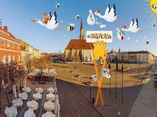 Clujul stă acasă | 10 activități pentru a interacționa cu orașul (online)