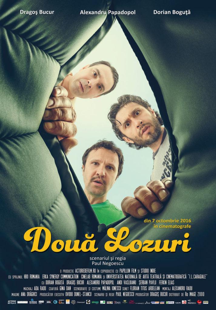 Doua lozuri, film românesc - Cinema Florin Piersic