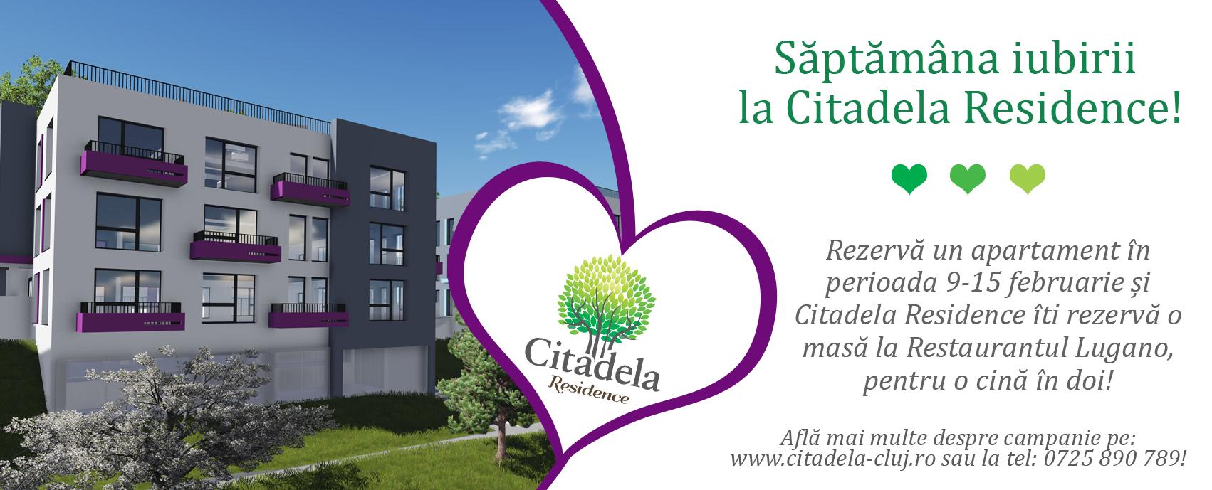 Saptamana iubirii la Citadela Residence