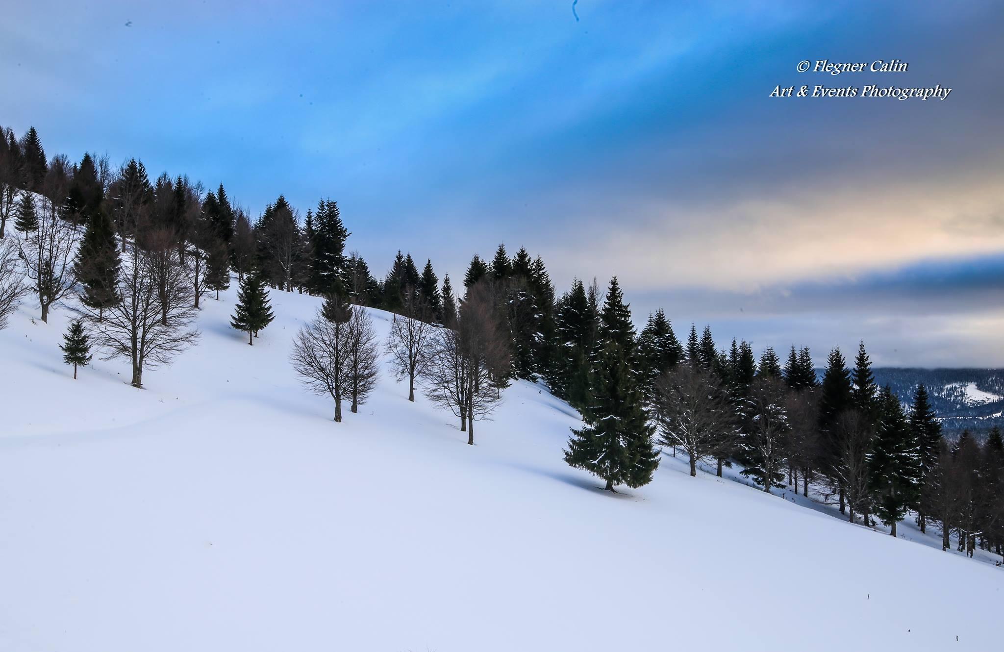 Drumul Răchițele - Doda Pilii, pe timp de iarnă