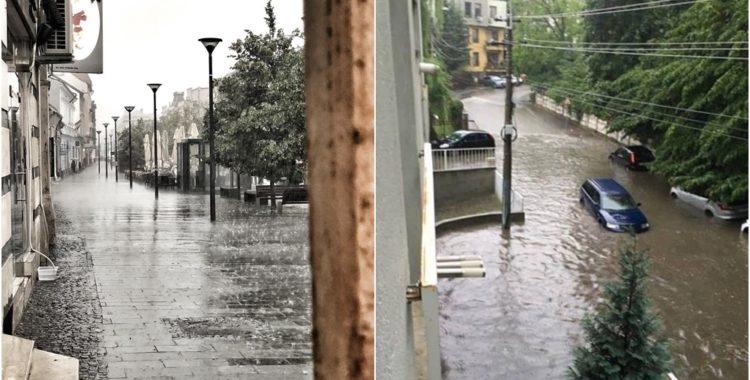 Inundații în Cluj