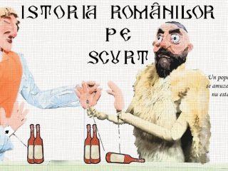 """""""Istoria românilor pe scurt"""": 2000 de ani de istorie într-o comedie satirică, în trei personaje"""