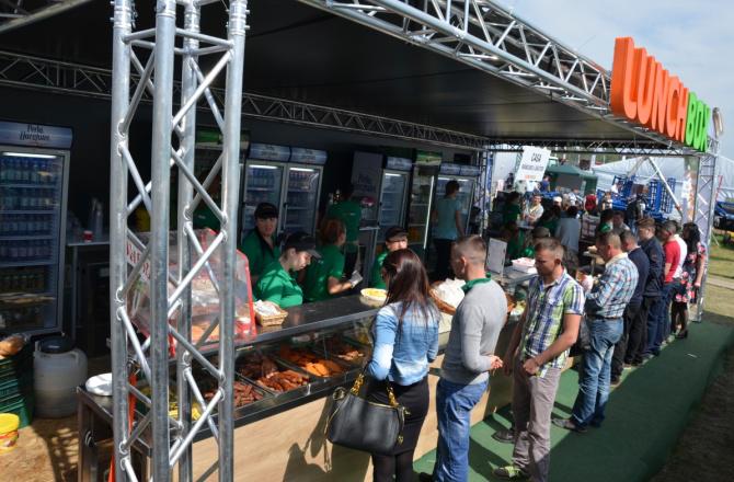 Lunchbox, furnizor pe zona food al principalelor evenimente din Cluj