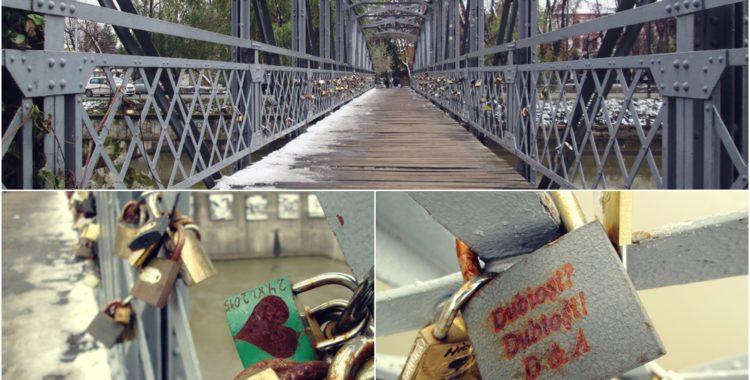 Lacătele de pe pod, povești blocate în timp