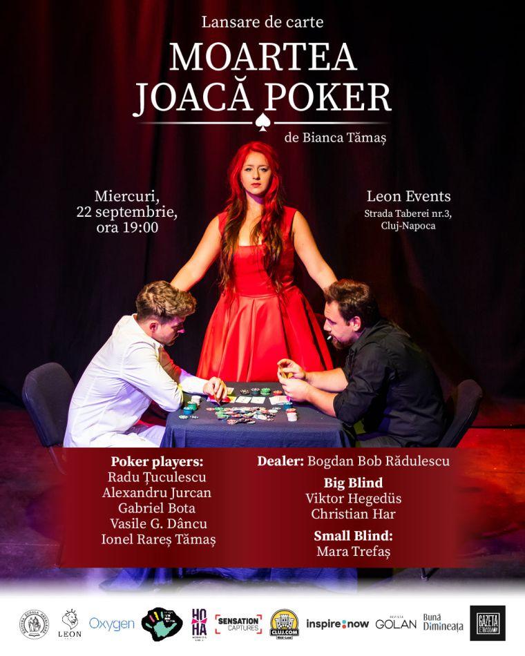 lansare de carte Moartea joaca Poker