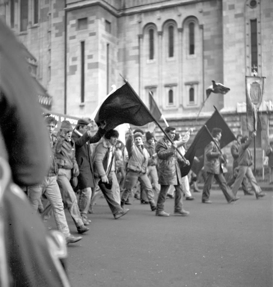 Marșul revoluționarilor Revoluția din 1989 la Cluj