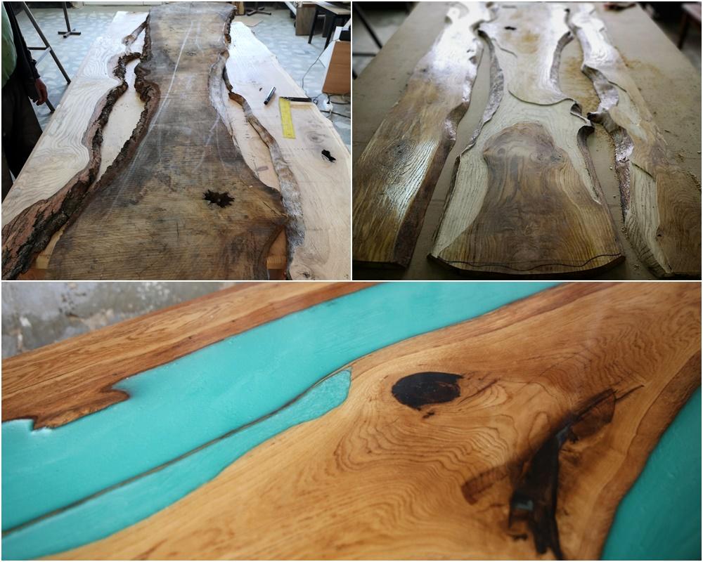 moth lemn mobilier unicat