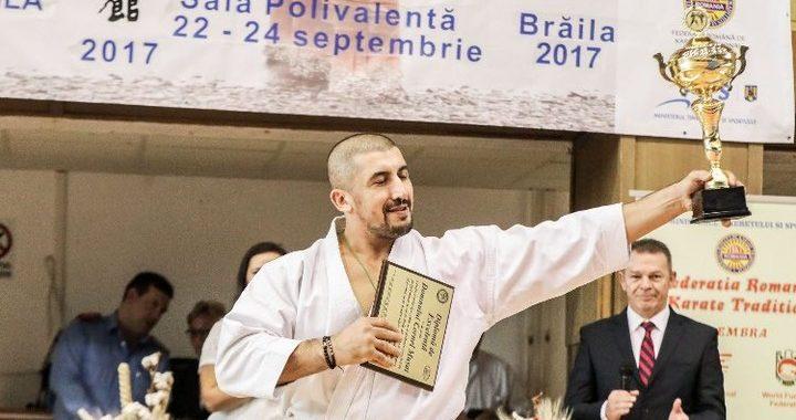 Cornel Mușat, multiplu campion mondial la Kumite individual, vine la Cluj