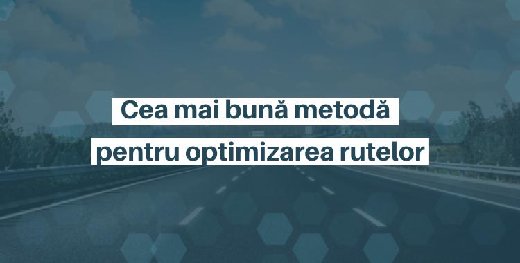Optimizarea rutelor WMS Optimall