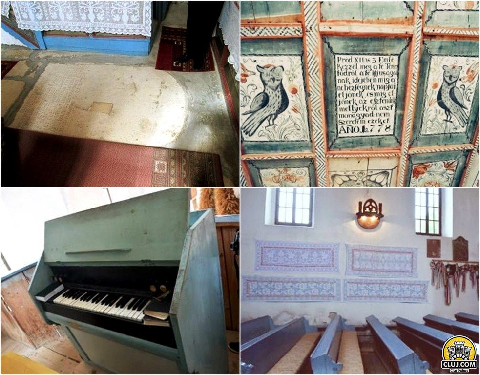 frumuseti din tara calatei, satul valeni, comuna calatele, judetul cluj, biserica reformata calvina valeni