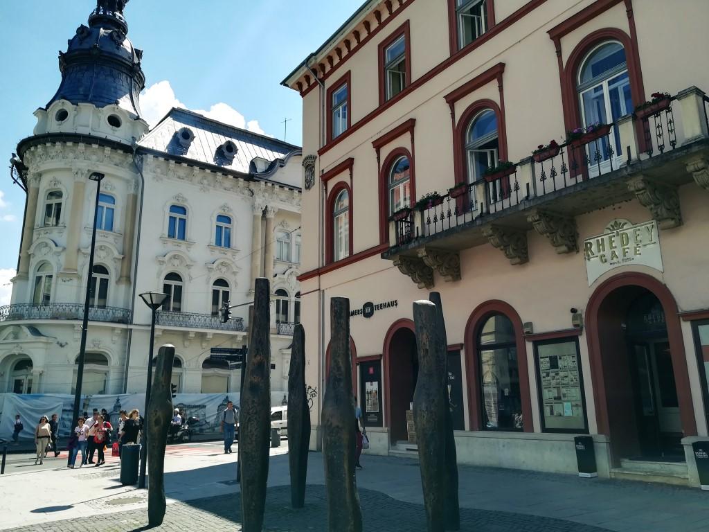 Palatul Rhédey din Cluj - Stâlpii împușcați