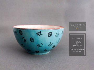 pictura pe ceramica