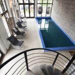 piscina casa barolo