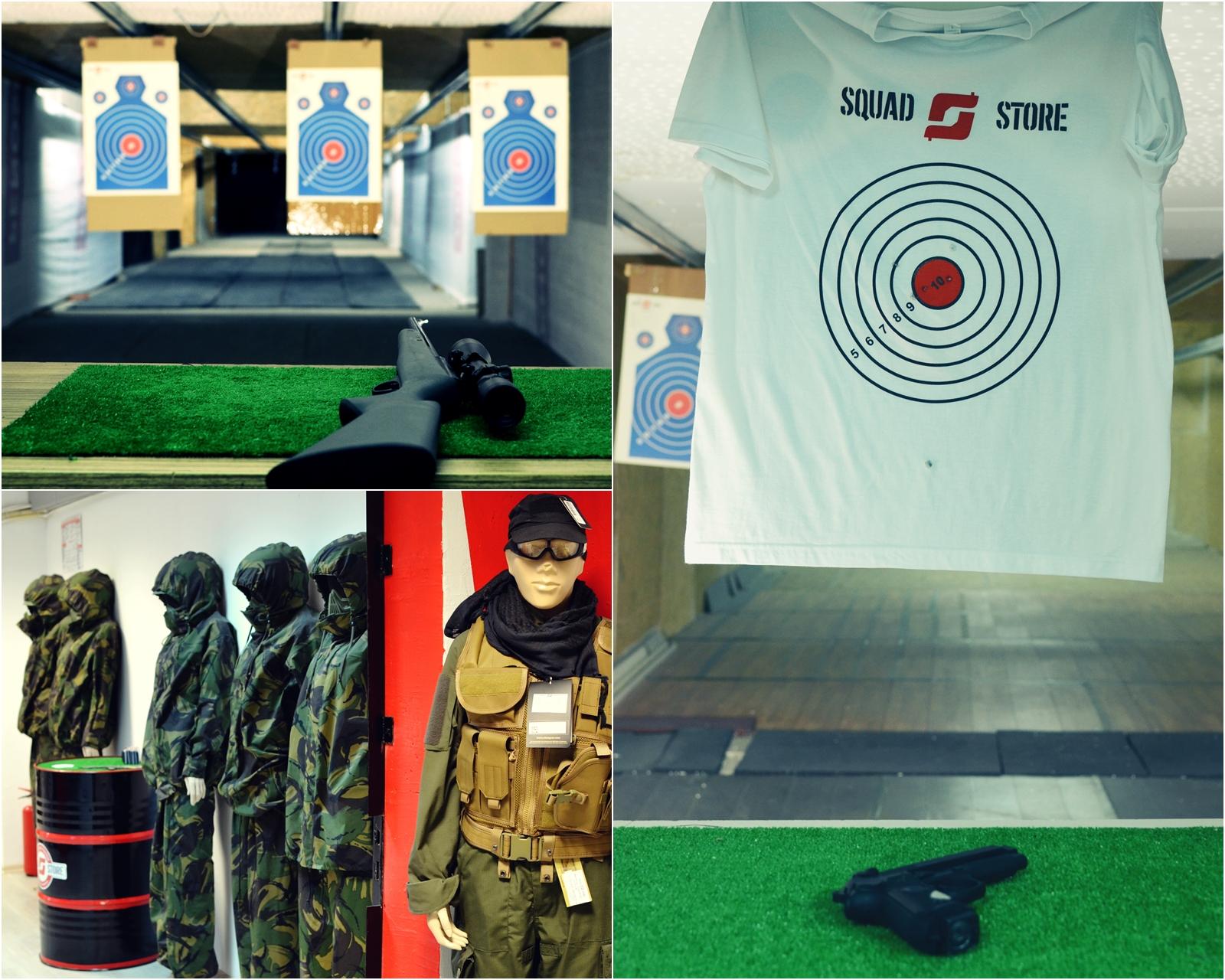 squad store prima noastră experiență la un poligon de tir
