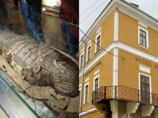 Mumia de la Muzeul de Istorie | Mistere în Cluj din Egiptul Antic