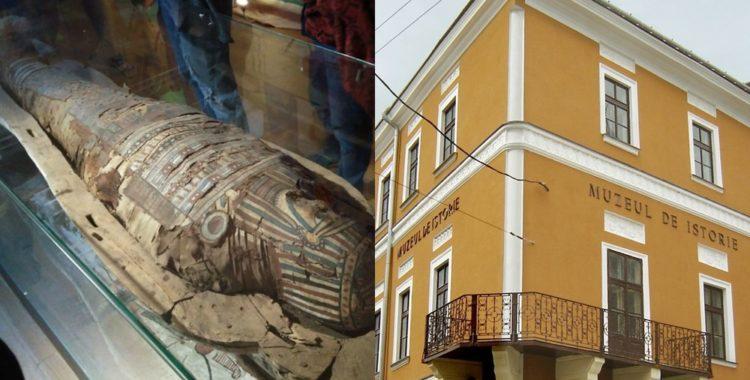 sarcofag cu mumie